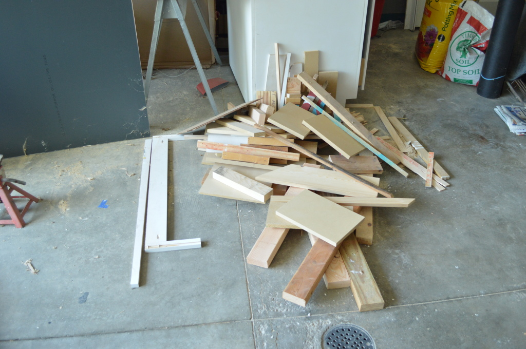 Garage Scrap Lumber