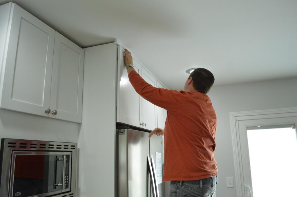 Kitchen Cabinet Trim Adjustments