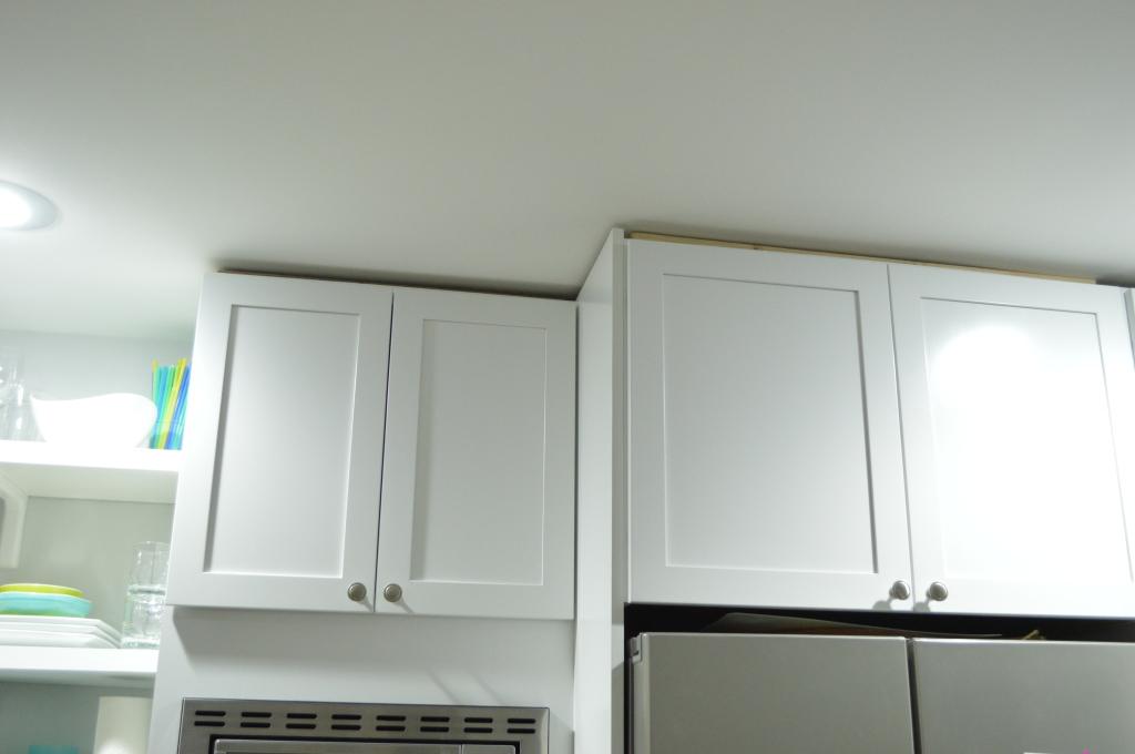 Kitchen Cabinet Trim Before 2