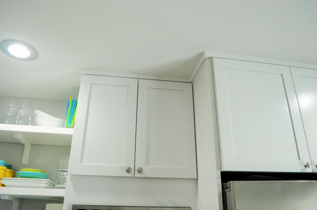 Kitchen Cabinet Trim Done 2