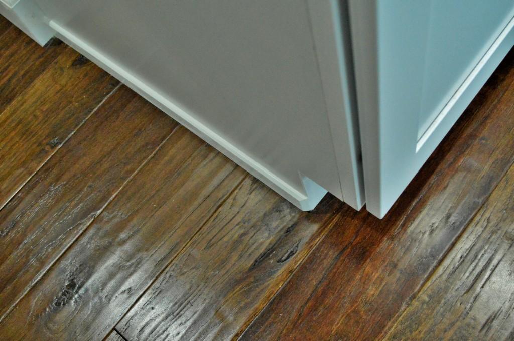 Kitchen Floor Trim Done