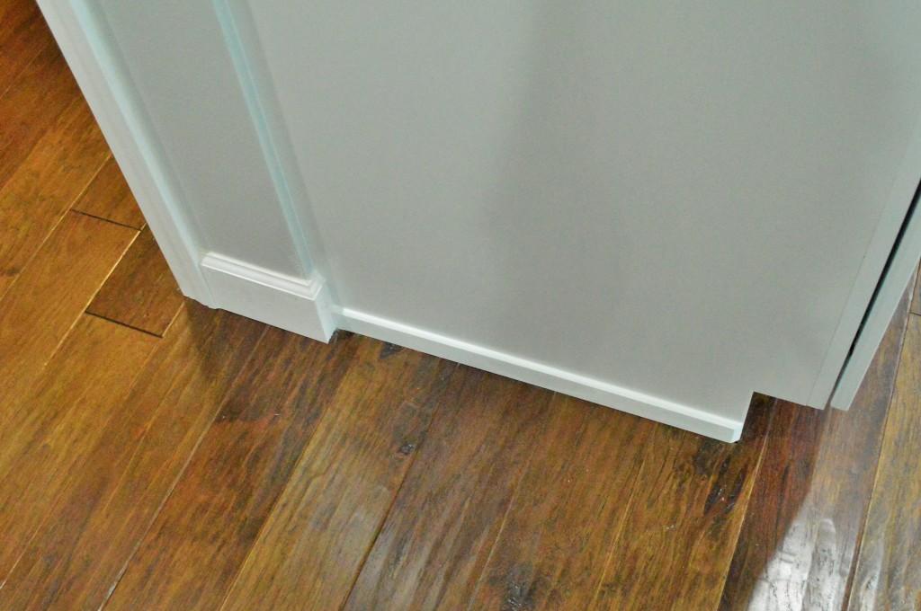 Kitchen Floor Trim Done 3