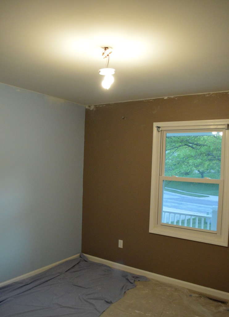 Painting Nursery Ceiling