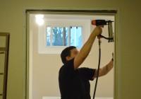 Pre-hung door jam installation 11