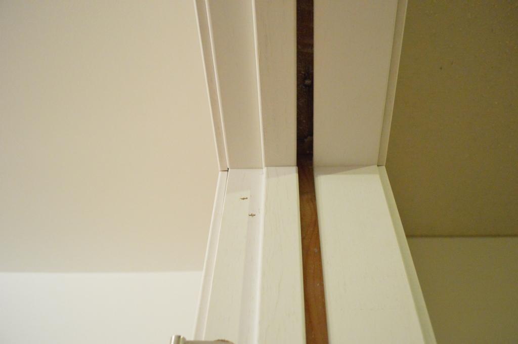 Pre-hung door jam installation 12