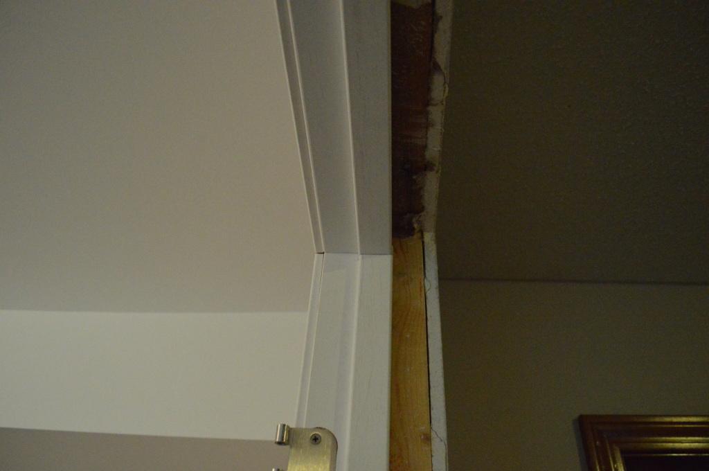 Pre-hung door jam installation 9