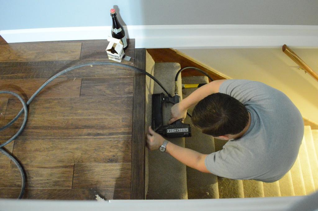 stairway carpet fix 2