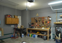 Garage Organization Progress