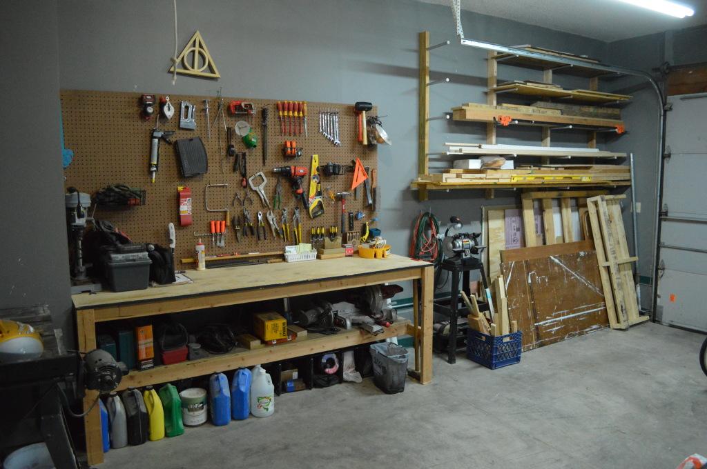 Garage Organization Progress Woodworking Tools
