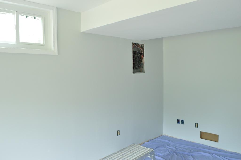 Guestroom painted