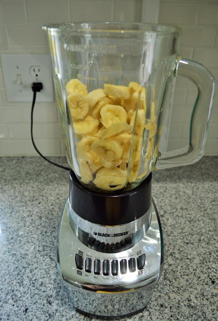 Healthy Banana Chocolate Ice Cream 2
