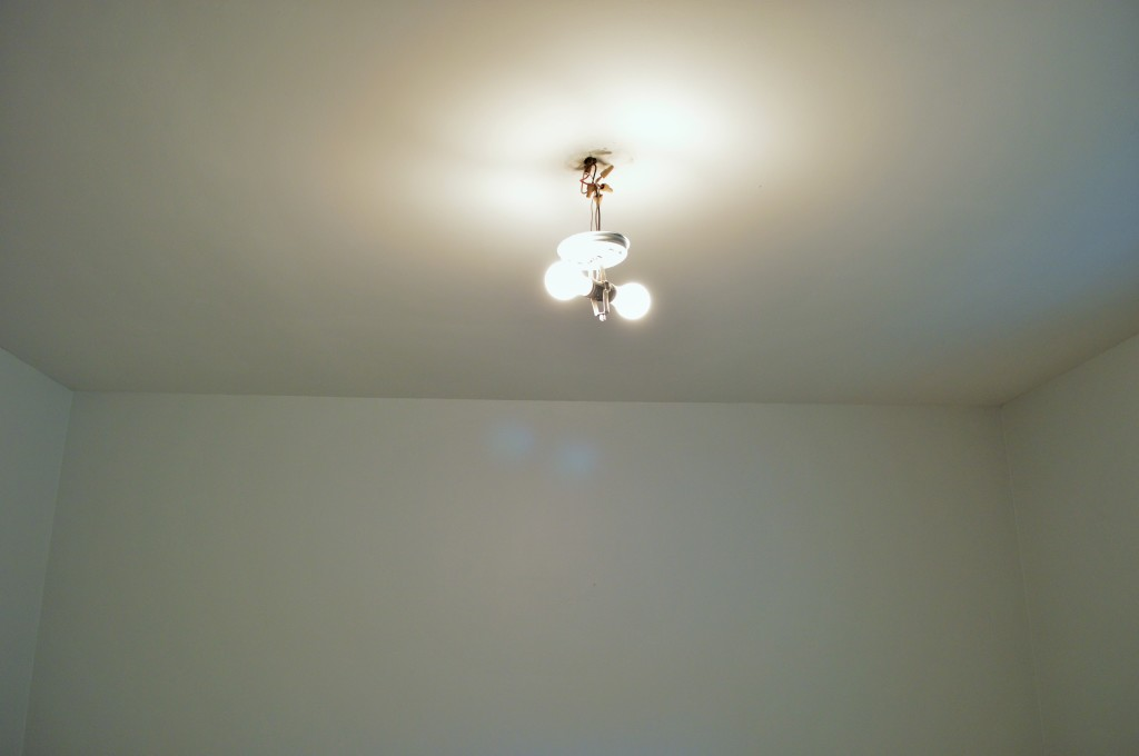 Repainted Ceiling Nursery