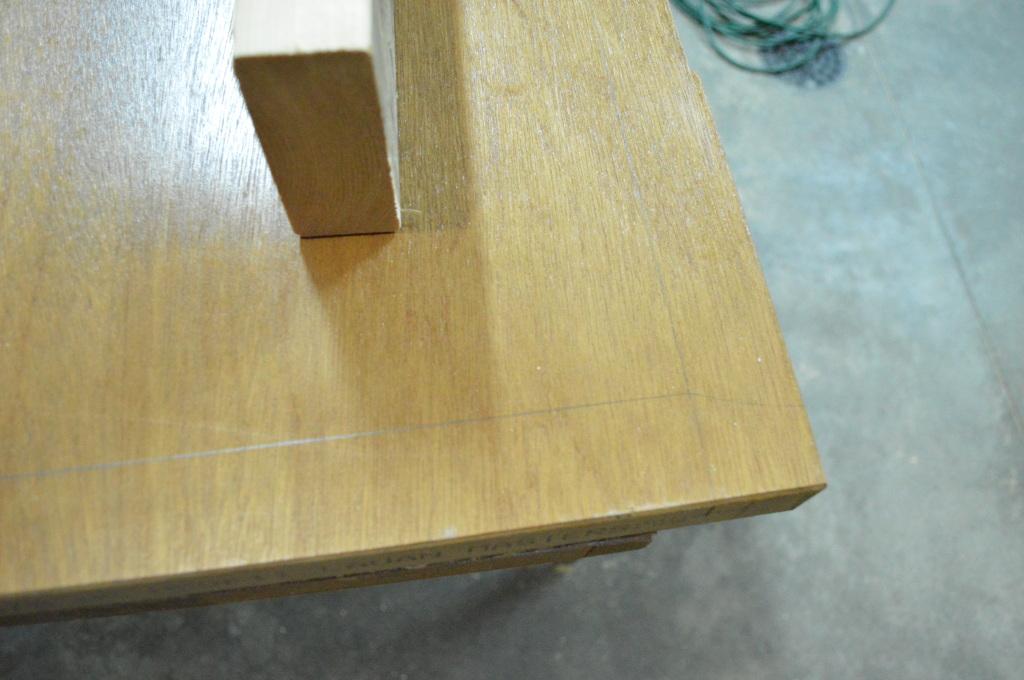 Building Headboard Frame On Old Door 4