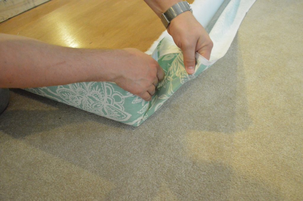 DIY Upholstered Headboard Corner 2