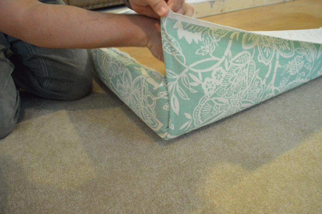 DIY Upholstered Headboard Corner 3
