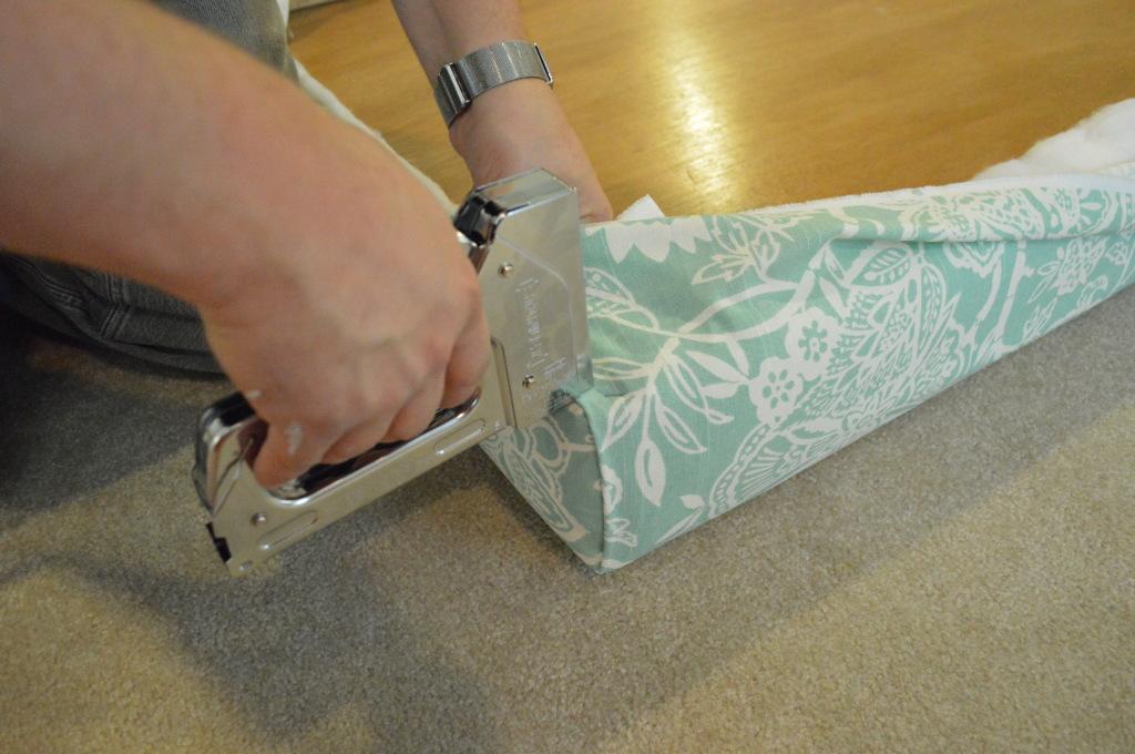 DIY Upholstered Headboard Corner 4