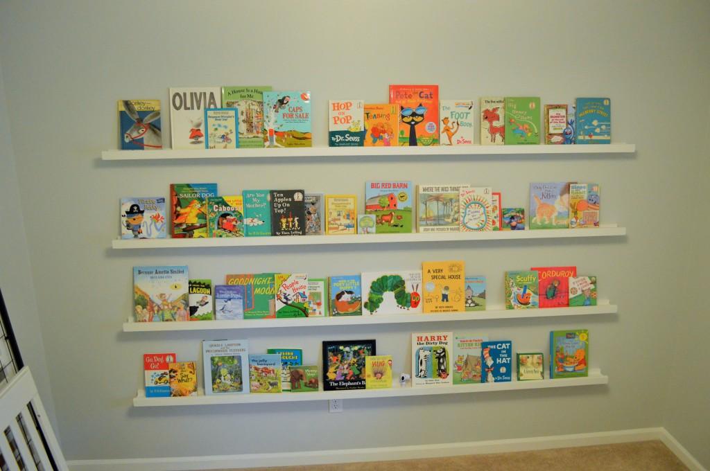 Nursery Book Ledges