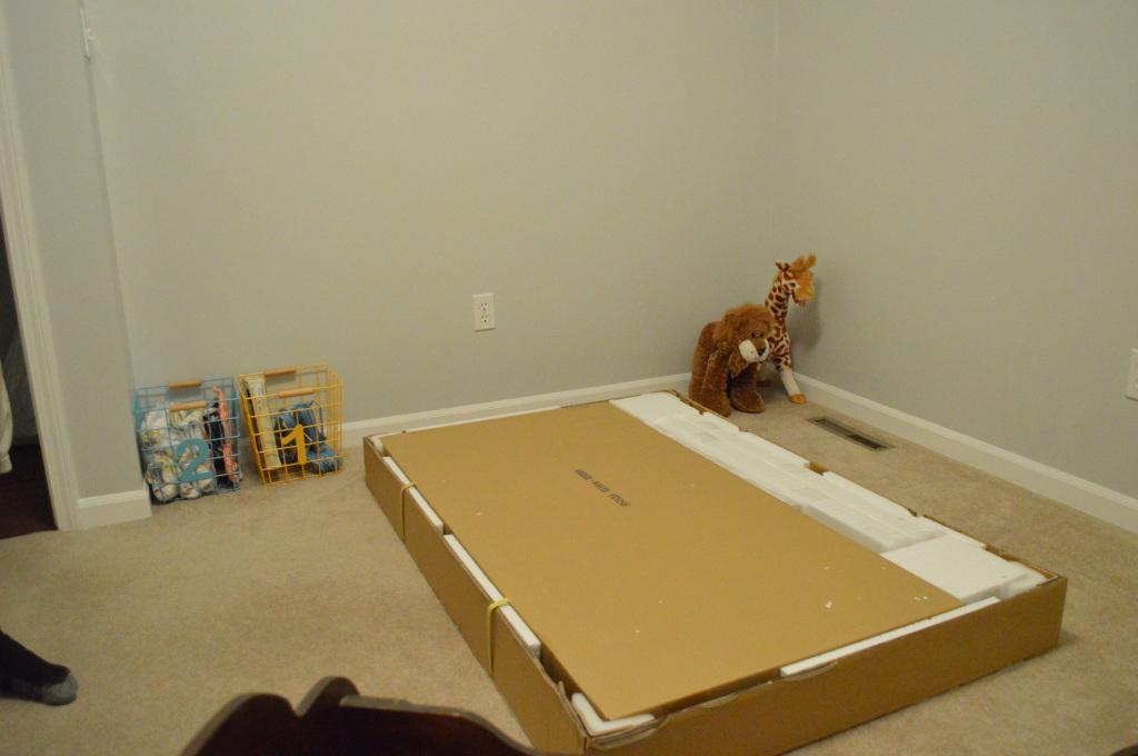 Putting Nursery Crib Together