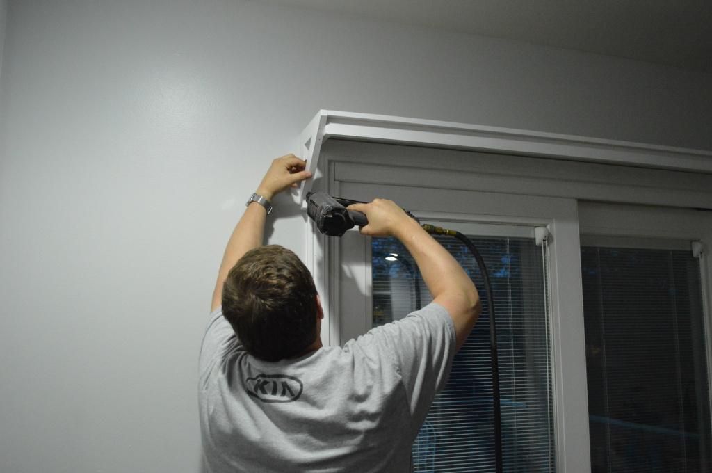 Rehanging Kitchen Shelf 2