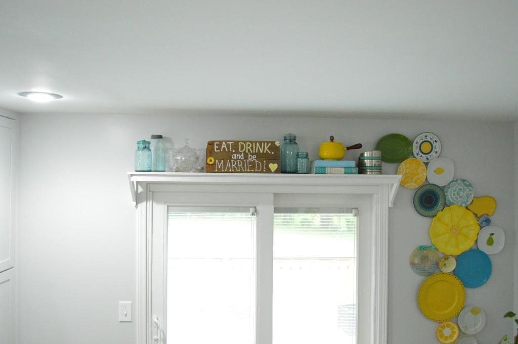 Shelf Above Door in Kitchen 2