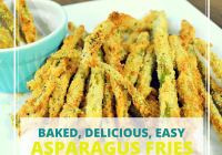 easy baked asparagus fries