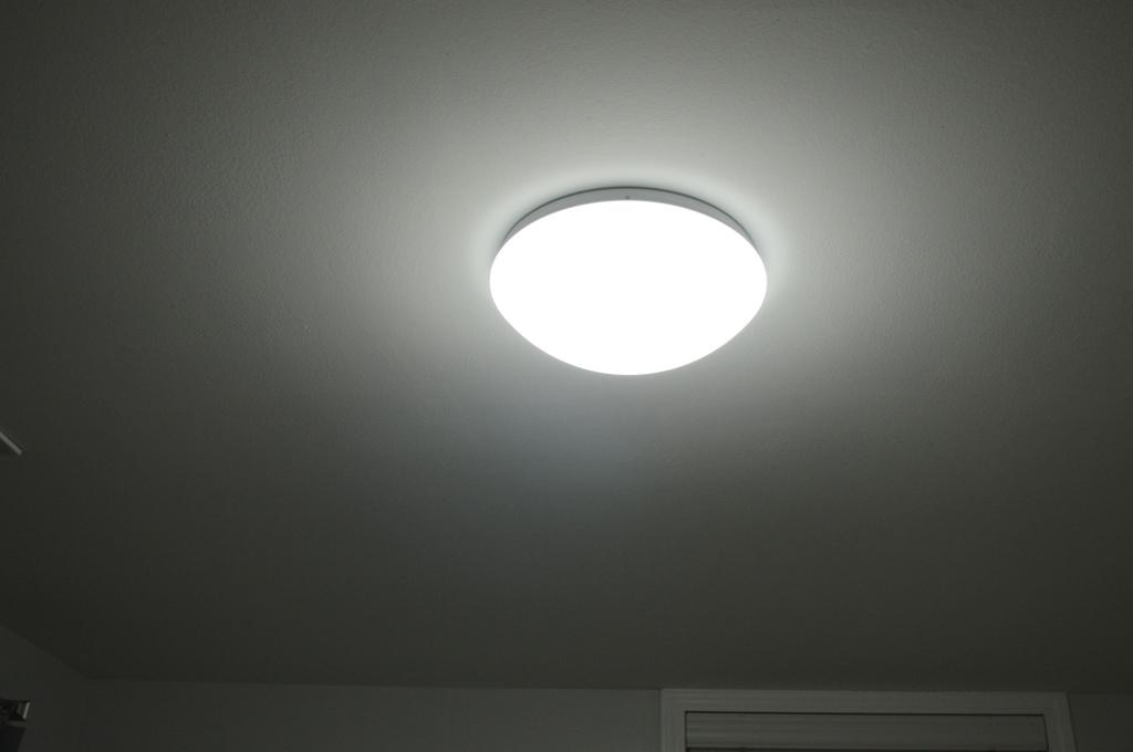 Basement Guest Room Puff Light