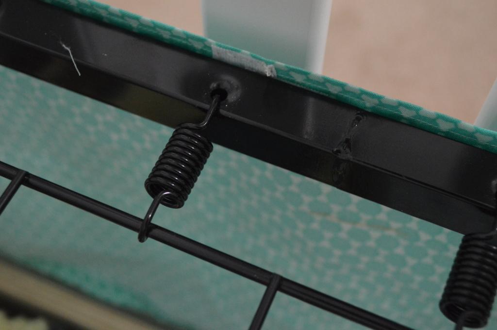 Crib Skirt Attaching to Rails 3