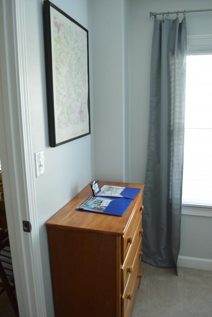Guest Room Dresser Welcome Info
