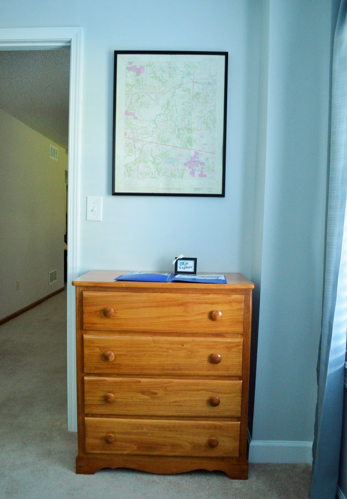 Guest Room Dresser Welcome Info Go Explore Print 2