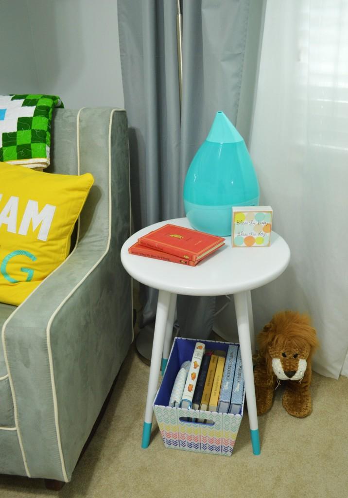 Nursery DIY Mid Century Side Table 4