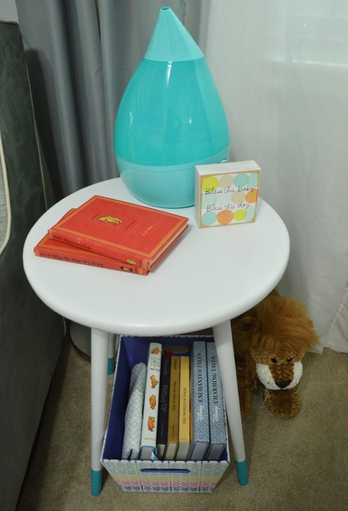 Nursery DIY Mid Century Side Table Top