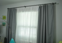 Nursery Double Curtain Rods 2