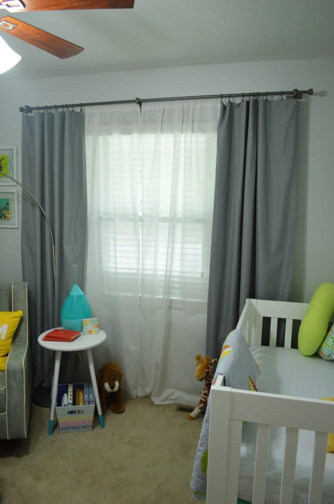 Nursery Double Curtain Rods