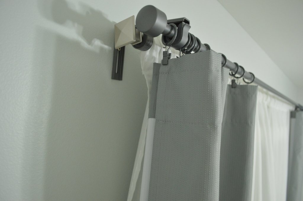 Nursery Double Curtain Rods Top 2