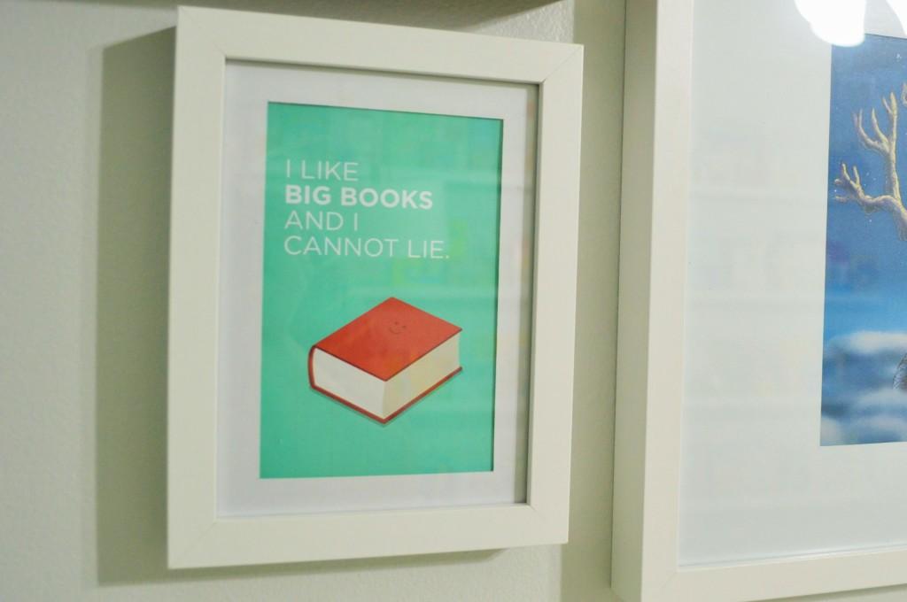 Nursery Gallery Wall Big Books Print