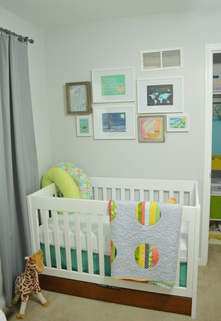 Nursery Gallery Wall Done
