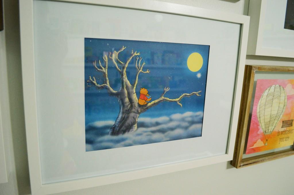 Nursery Gallery Wall Dreamy Pooh Print