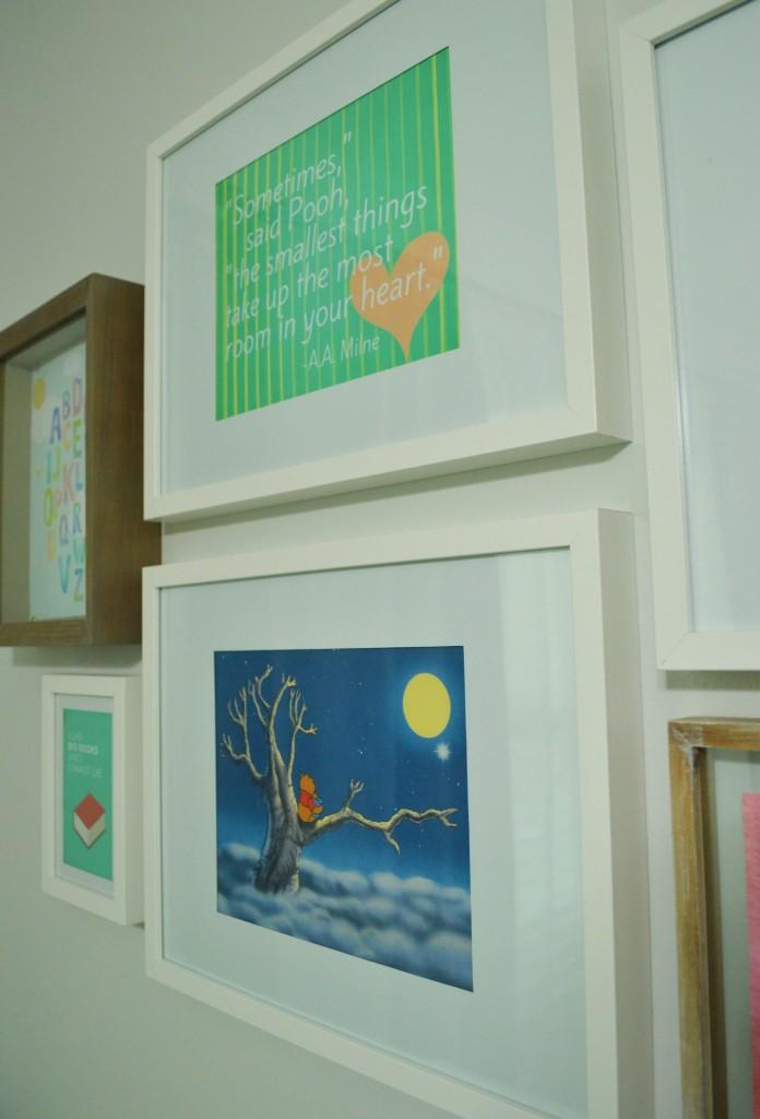 Nursery Gallery Wall Pooh Prints