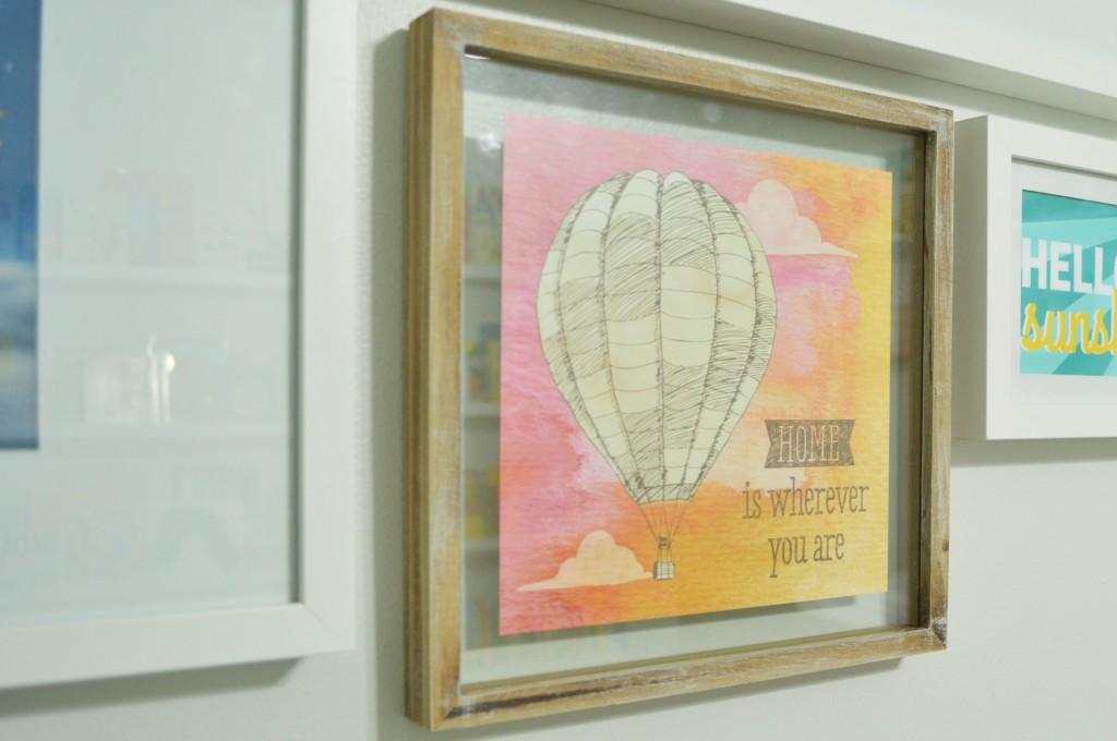 Nursery Gallery Wall Target Balloon Print