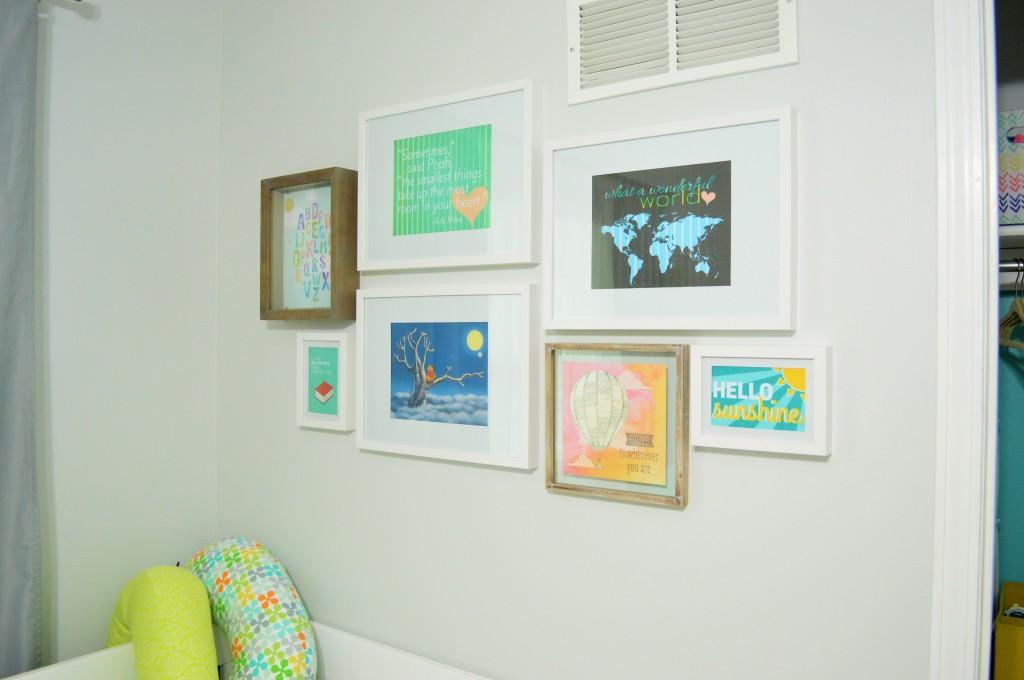 Nursery Gallery Wall done 2