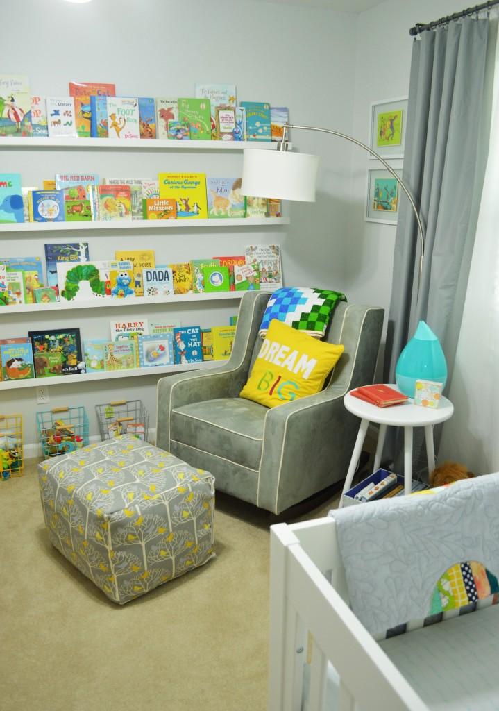 Nursery Reading Rocking Chair