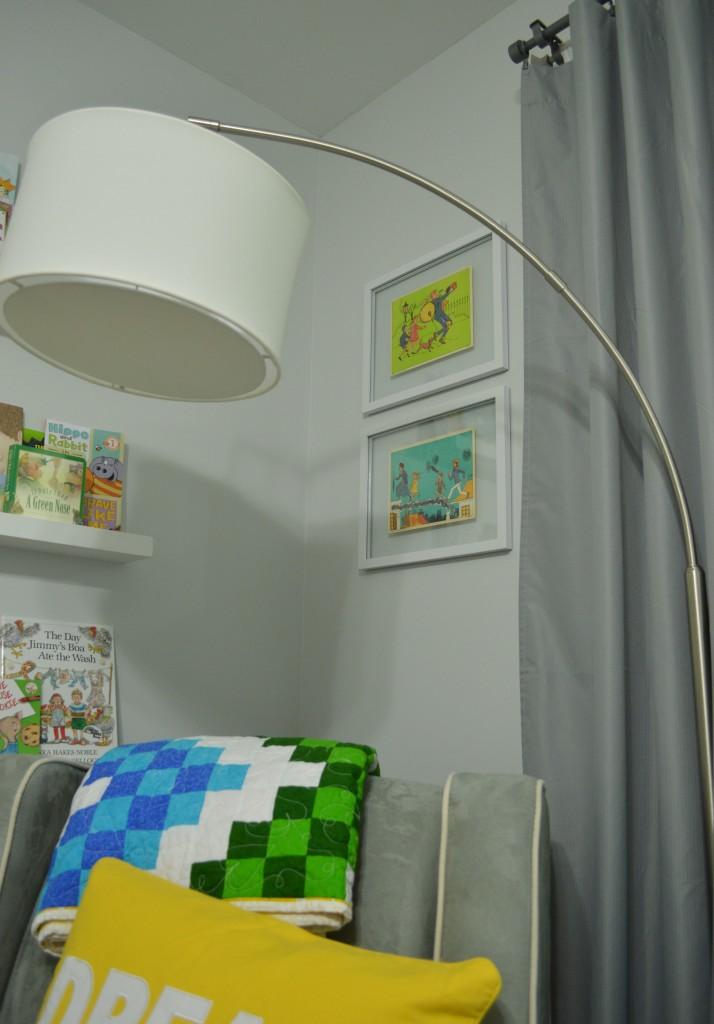 Nursery Vintage Mary Poppins prints framed 2