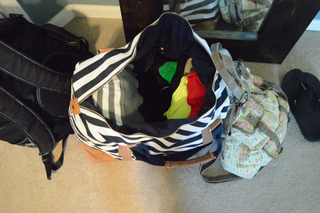hospital bags packed