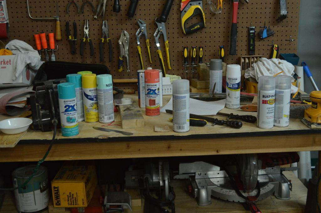 nursery spray paint collection