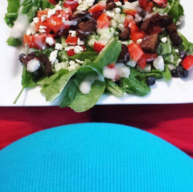 steak salad snip