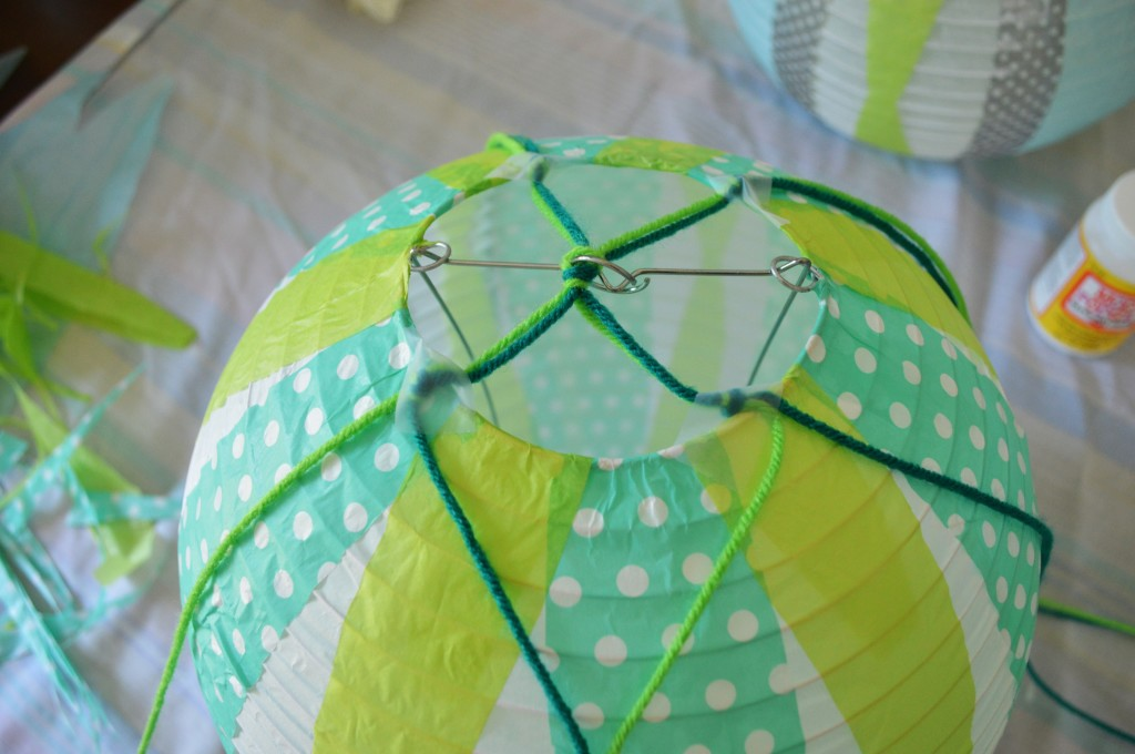 DIY Mini Hot Air Balloon String 3