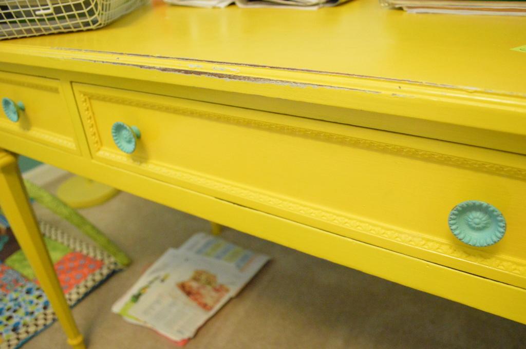 Painted Desk Update 3