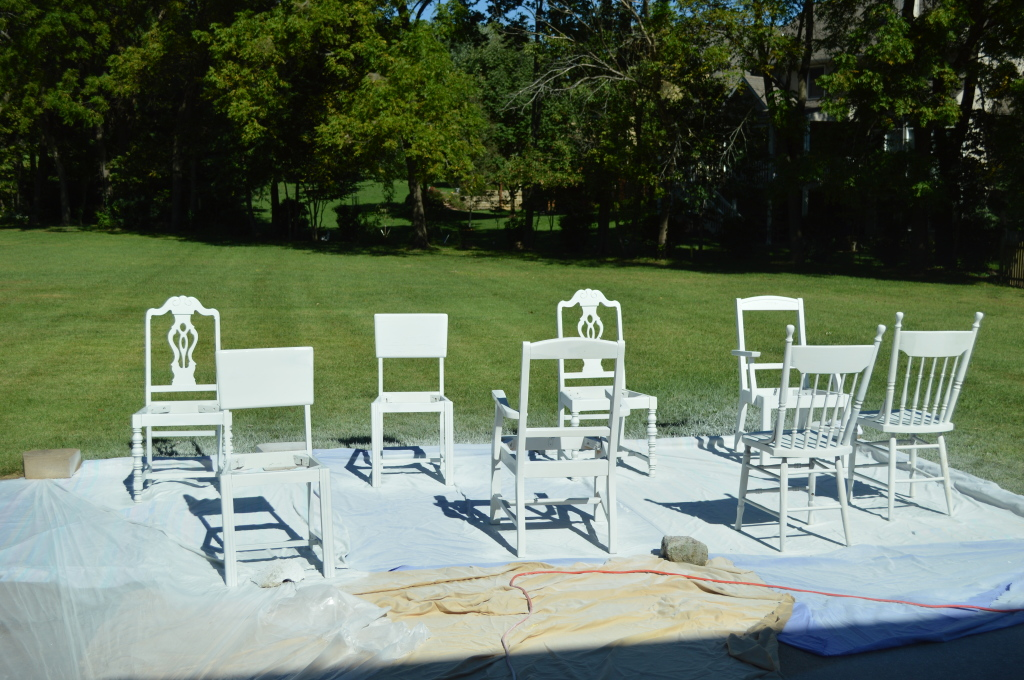 Priming Dining Room Chairs 2
