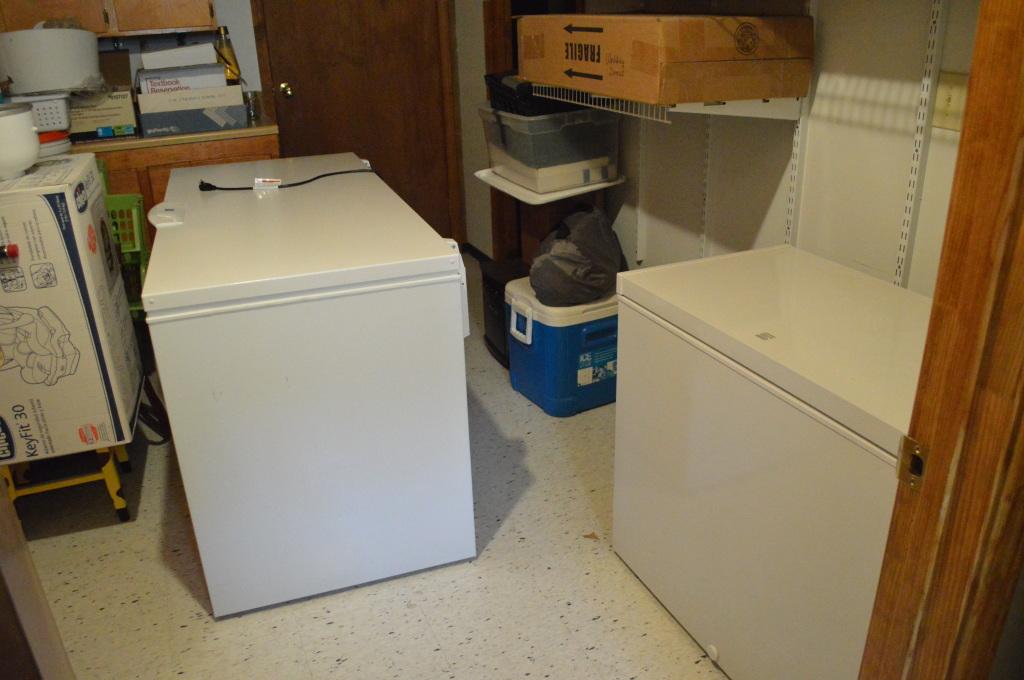 basement freezers