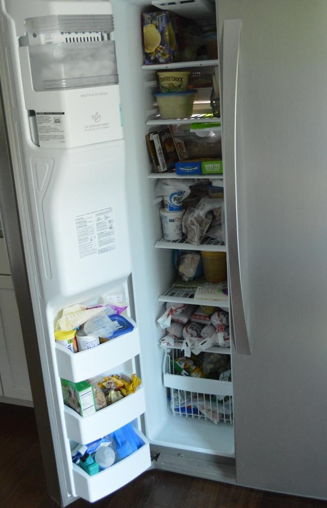 full upstairs freezer